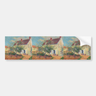 House in the Country by Gustave Loiseau Bumper Stickers