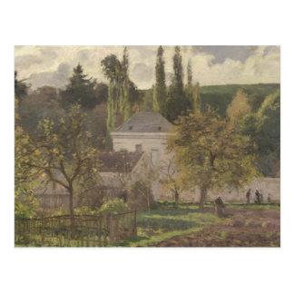 House in the Hermitage, Pontoise, 1873 Postcard