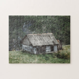 House In The Hills Jigsaw Puzzle