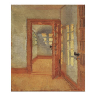 House Interior, Anna Ancher, Vintage Impressionism Print