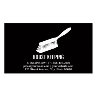 House Keeping / Cleaning Supplies Pack Of Standard Business Cards