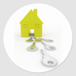 House Keys Stickers
