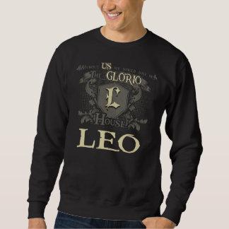 House LEO. Gift Shirt For Birthday
