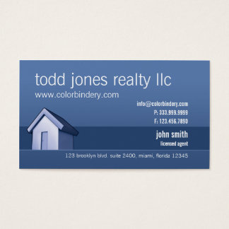 House Market Business Card