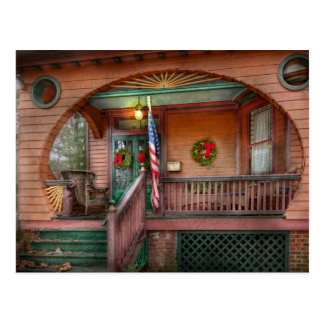 House - Metuchen, NJ - That yule tide spirit Postcard