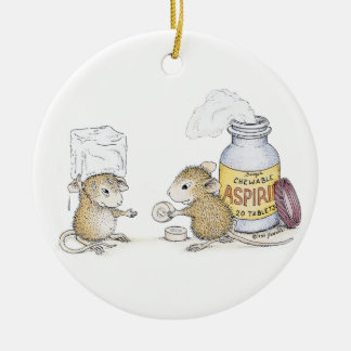 House-Mouse Designs® - Happy New Year Ornaments