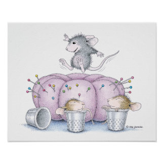 House-Mouse Designs® - Mouse Bounce Poster