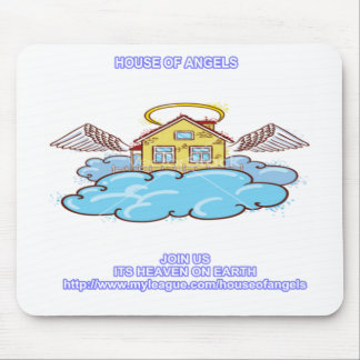 HOUSE OF ANGELS MOUSE PAD