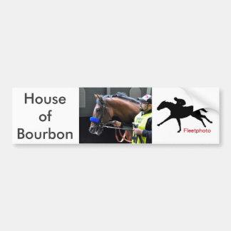 House of Bourbon Bumper Sticker