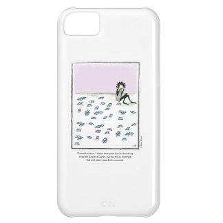 HOUSE OF CARDS cartoon by Ellen Elliott iPhone 5C Case