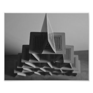 House of Cards Photographic Print
