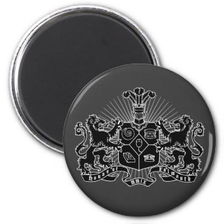 House of Falmouth Crest 6 Cm Round Magnet