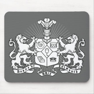 House of Falmouth Crest Mouse Pad