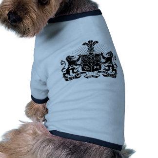 House of Falmouth Crest Ringer Dog Shirt