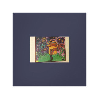 House of Fun Stretched Canvas Print