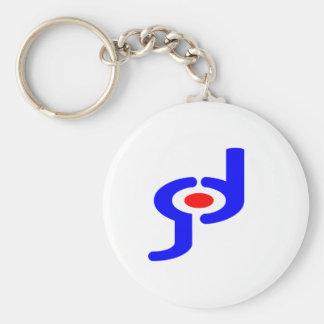 House of God Basic Round Button Key Ring