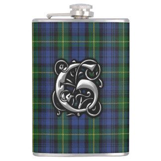 House of Gordon Clan Tartan Old Scotland Flask