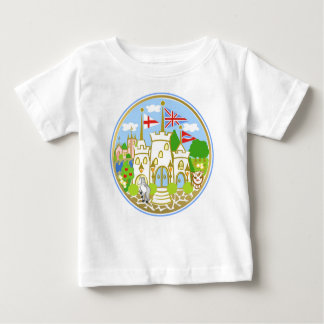House of Hereford Blue Castle Baby T-Shirt