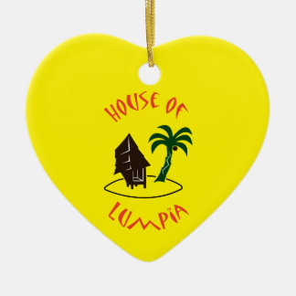 House of Lumpia Ceramic Ornament