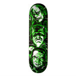 House of Monsters Custom Skate Board
