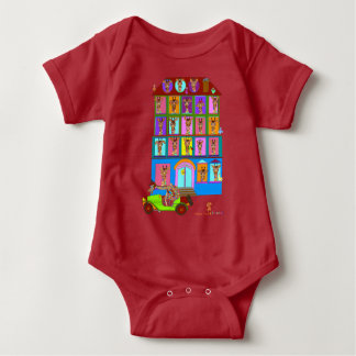 House of Moods Baby Clothes Baby Bodysuit