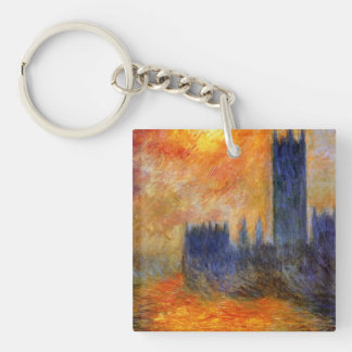 House of Parliament Sun Key Ring