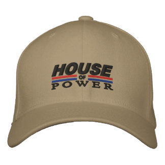 House of Power Logo Flexfit hat Embroidered Baseball Caps