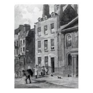 House of Sir Isaac Newton Postcard