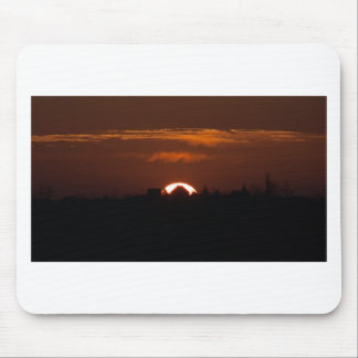 House Of The Falling Sun Mouse Pad