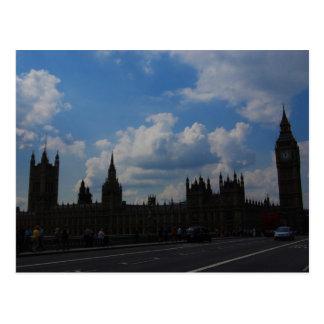 House of the Parliament & Big Ben Postcard