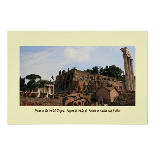 House of the Vestal Virgins Posters