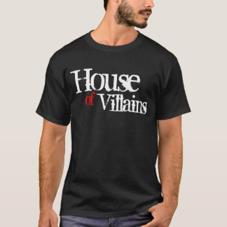 House of Villains (Red) T-Shirt