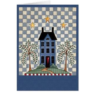 House on Hill - Blank Card
