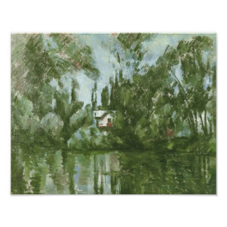 House on the Banks of the Marne, 1889-90 Poster