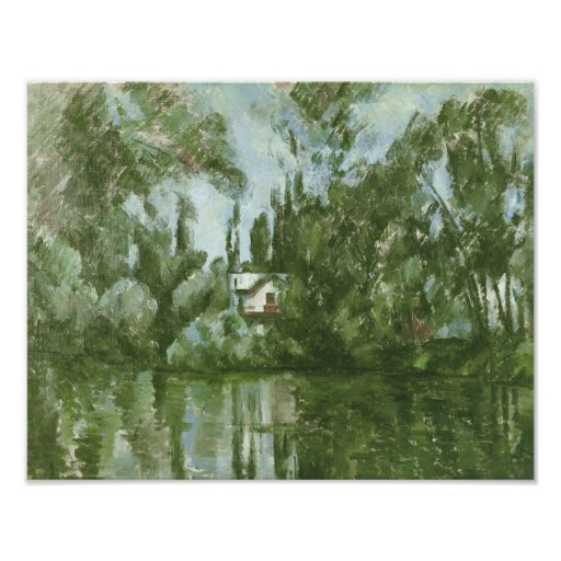 House on the Banks of the Marne, 1889-90 Print