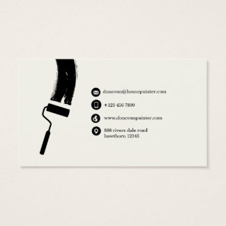house painter business card / professional painter