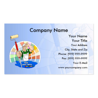 House Painter Pack Of Standard Business Cards