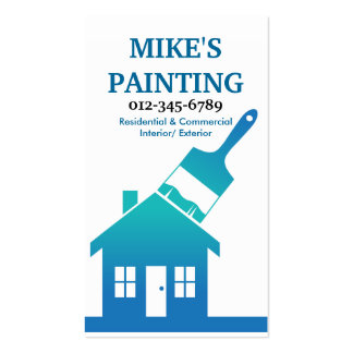 House Painter's Business Card