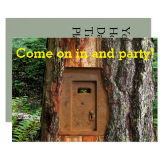 HOUSE PARTY TROLL DOOR CARD