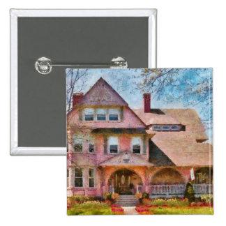 House - Pink Majestic Pin