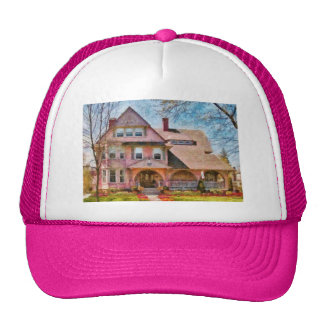House - Pink Majestic Hat