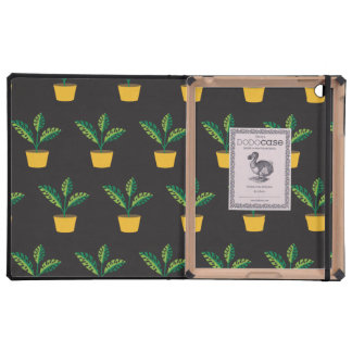 house plant iPad cover