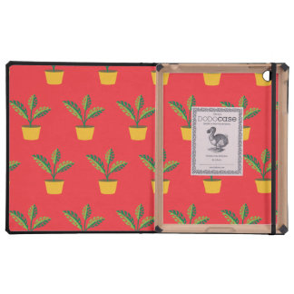 house plant red iPad covers