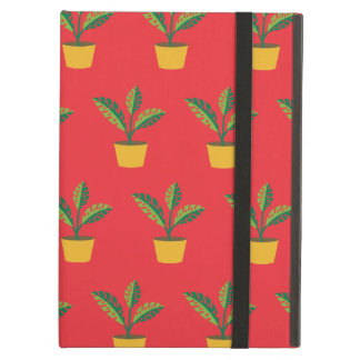 house plant red iPad air case