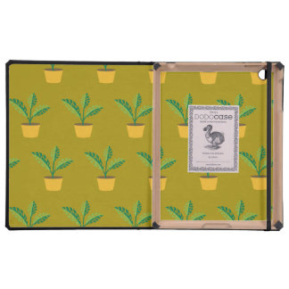 house plant spinach green iPad case