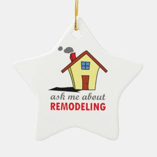 HOUSE REMODELING CERAMIC ORNAMENT