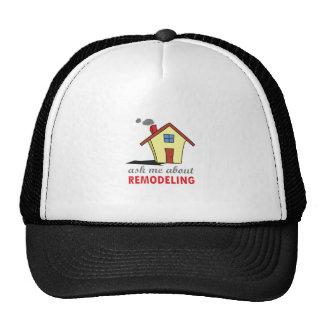 HOUSE REMODELING TRUCKER HATS