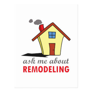 HOUSE REMODELING POSTCARD