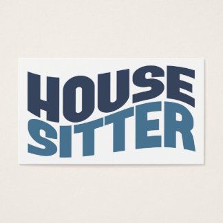 House Sitter Business Cards