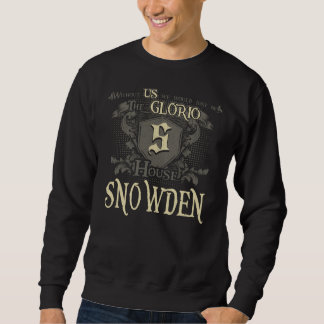 House SNOWDEN. Gift Shirt For Birthday